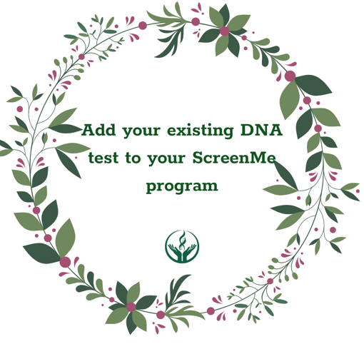 Picture of Add your existing DNA test to your ScreenMe programme
